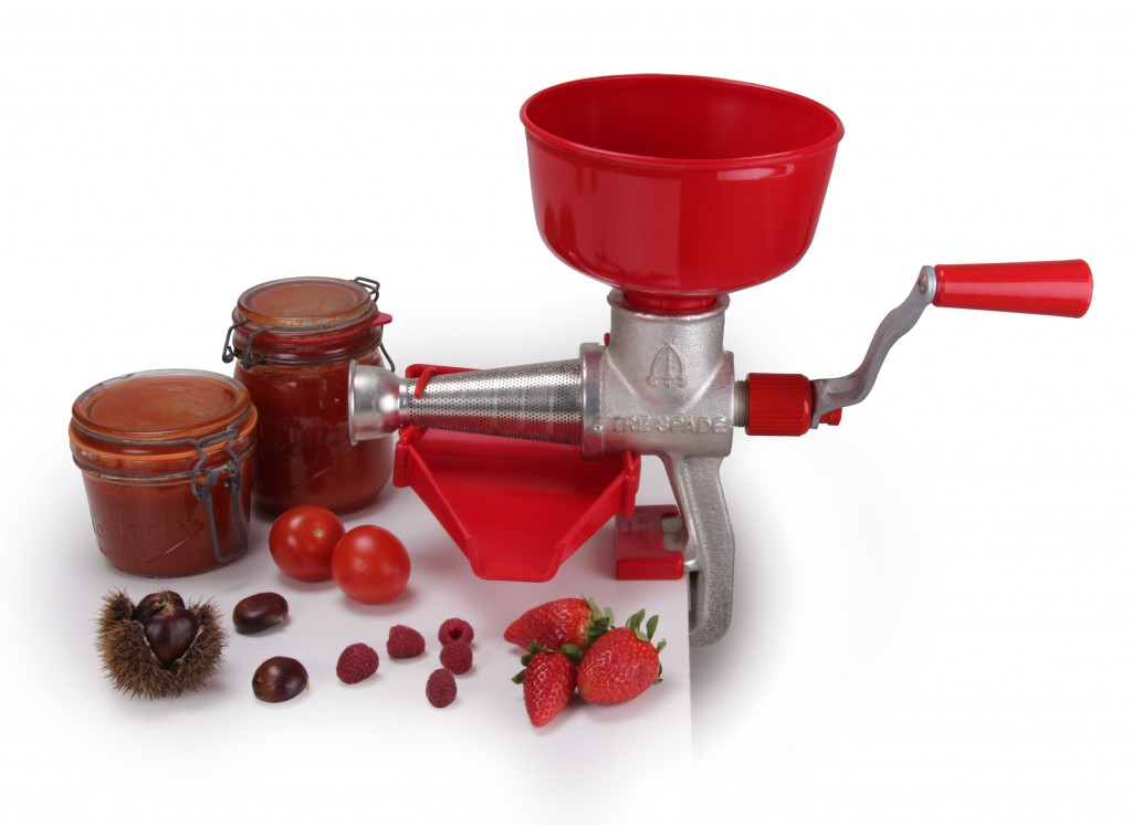 Epépineuse - Presse tomate et fruit manuelle